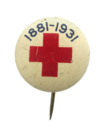 Red Cross 1881-1931 Cause Button Museum