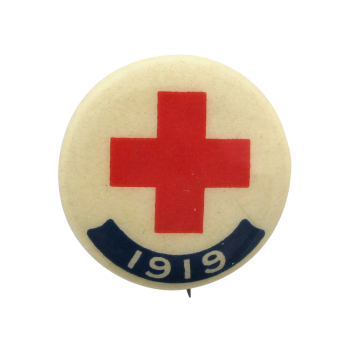 Red Cross 1919 Cause Button Museum