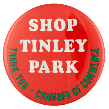 Shop Tinley Park cause busy beaver button museum