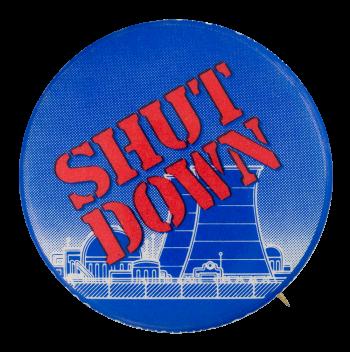 Shut Down Cause Button Museum