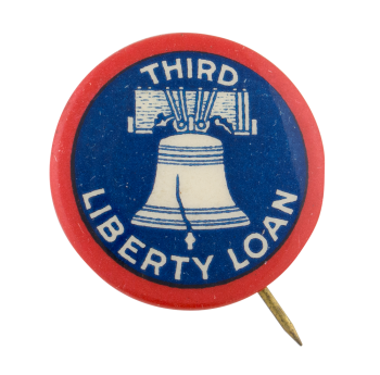 Third Liberty Loan Cause Button Museum