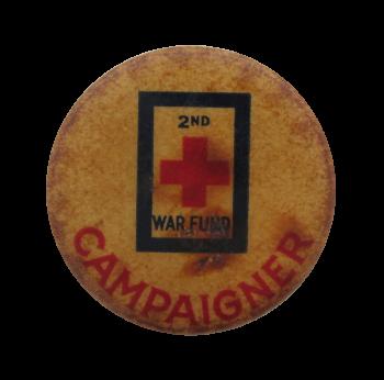War Fund Campaigner Cause Button Museum
