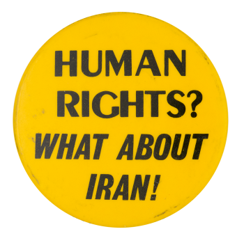 What About Iran Cause Button Museum