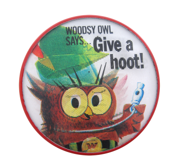 Woodsy Owl Cause Button Museum