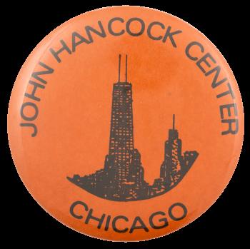 John Hancock Center Chicago Busy Beaver Button Museum