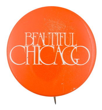 Beautiful Chicago Orange Chicago Button Museum