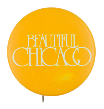 Beautiful Chicago Yellow Chicago Button Museum