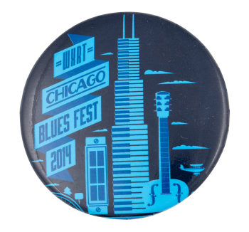 Chicago Blues Fest 2014 Chicago Button Museum