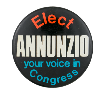 Elect Annunzio Chicago Button Museum
