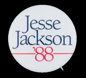 Jesse Jackson '88 Chicago Button Museum