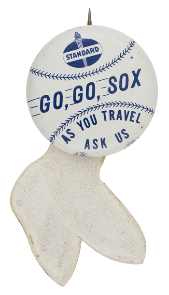 Standard Go Go Sox Chicago Button Museum