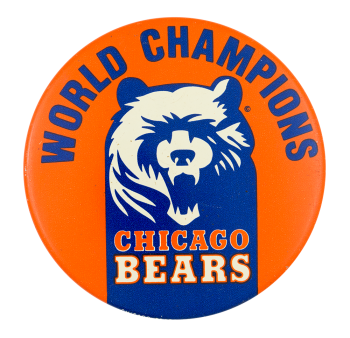 World Champions Chicago Bears Chicago Button Museum