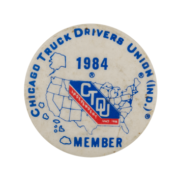 Chicago Truck Drivers Union Club Busy Beaver Button Museum