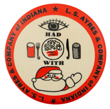 I Had Breakfast With Santa Club Busy Beaver Button Museum