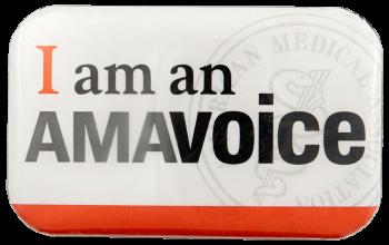 I am an amavoice Club Busy Beaver Button Museum