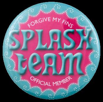 Splash Team Club Busy Beaver Button Museum