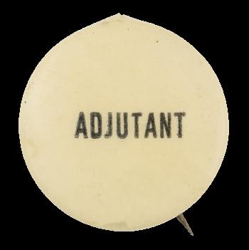 Adjutant Club Button Museum