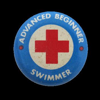Advanced Beginner Swimmer Club Button Museum