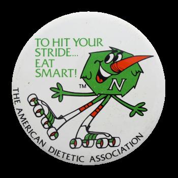 American Dietetic Association Club Button Museum
