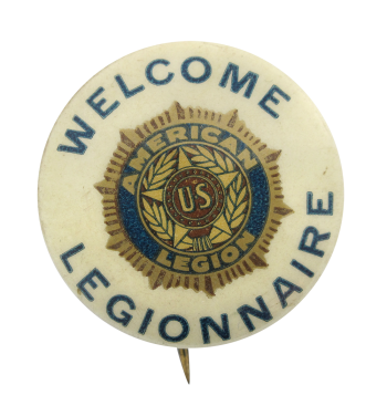 American Legion Welcome Club Button Museum