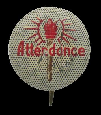 Attendance Club Button Museum