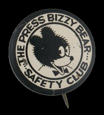 Bizzy Bear Safety Club Club Button Museum