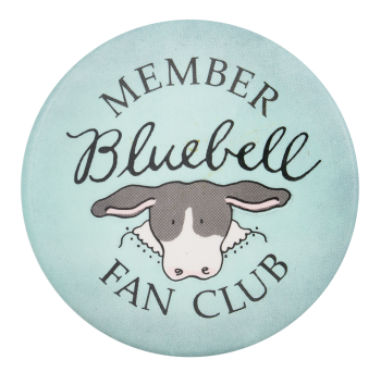 Bluebell Fan Club Club Button Museum