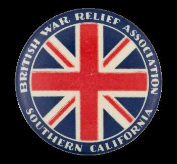 British War Relief Association  Club Button Museum
