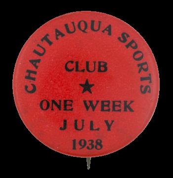 Chautauqua Sports Club Club Button Museum