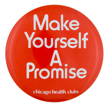 Chicago Health Clubs Club Button Museum