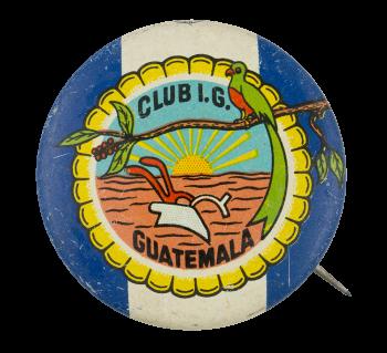Club I.G. Guatemala Club Button Museum