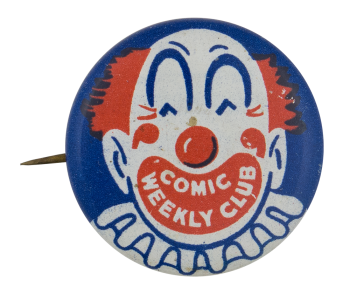 Comic Weekly Club Club Button Museum
