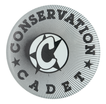 Conservation Cadet Club Button Museum