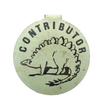 Contributor Dinosaur Club Button Museum