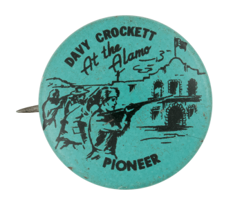 Davy Crocket at the Alamo Club Button Museum
