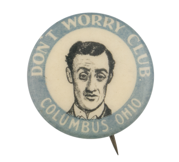 Don't Worry Club Club Button Museum