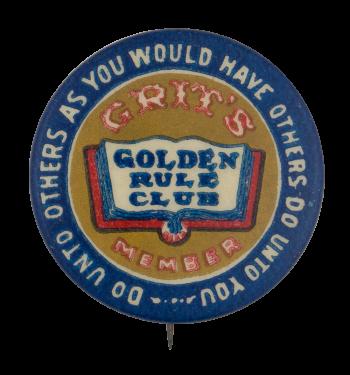 Golden Rule Club Club Button Museum
