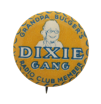 Grandpa Bulger's Dixie Gang Club Button Museum