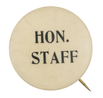 Hon. Staff Club Button Museum