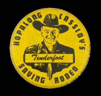 Hopalong Cassidy's Tenderfoot Club Button Museum