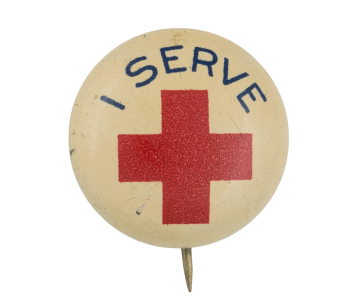 I Serve Red Cross Club Button Museum