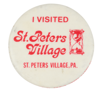 I Visited St. Peters Village Club Button Museum