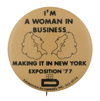 Im A Woman In Business Club Busy Beaver Button Museum