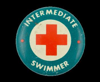 Intermediate Swimmer Club Button Museum