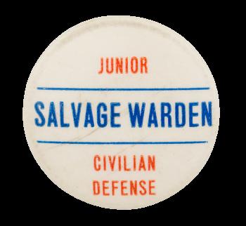 Junior Civilian Defense Club Button Museum