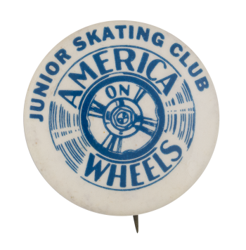 Junior Skating Club Club Button Museum