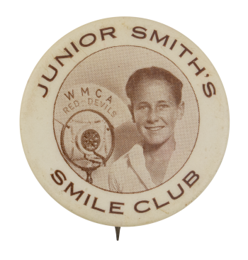WMCA Junior Smith Club Button Museum