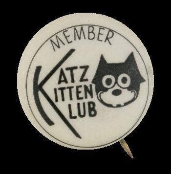 Katz Kitten Klub Club Button Museum