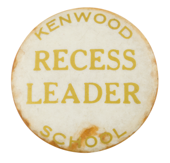 Kenwood Recess Leader Club Button Museum