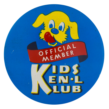 Kids Ken'l Klub Club Button Museum